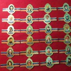 Vitolas de colección: SERIE COMPLETA 24 VITOLAS. PERSONAJES. SERIE B. CAPOTE .. Lote 221944007