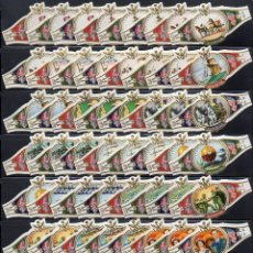 Vitolas de colección: WASHINGTON, ESCENAS DIVERSAS, SERIE XVIII, 60 VITOLAS, SERIE COMPLETA.. Lote 221944665