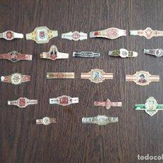 Vitolas de colección: LOTE DE 20 VITOLAS DE PURO.. Lote 222068500