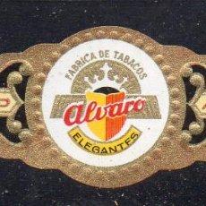 Vitolas de colección: VITOLA CLASICA: 162002, ELEGANTES, ALVARO, ISLAS CANARIAS.. Lote 222250818