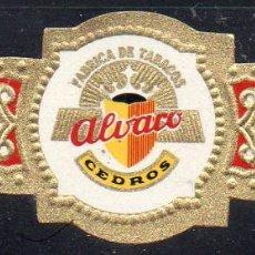 Vitolas de colección: VITOLA CLASICA: 162003, CEDROS, ALVARO, ISLAS CANARIAS.. Lote 222250845