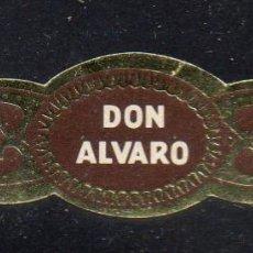 Vitolas de colección: VITOLA CLASICA: 162008, DON ALVARO, ISLAS CANARIAS.. Lote 222251063