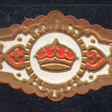 Vitolas de colección: VITOLA CLASICA: 162010, TEMA CORONAS, RUMBO, ISLAS CANARIAS.. Lote 222251125