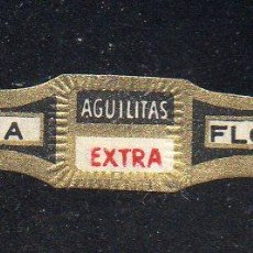 Vitolas de colección: VITOLA CLASICA: 162027, AGUILITAS EXTRA, ISLAS CANARIAS.. Lote 222251782