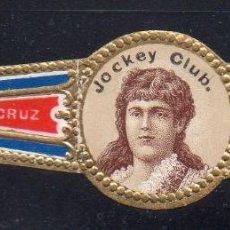 Vitolas de colección: VITOLA CLASICA: 163001, MUJERES MEXICO, JOCKEY CLUB, MADRAZO Y CORRALES, MEXICO. Lote 222251956