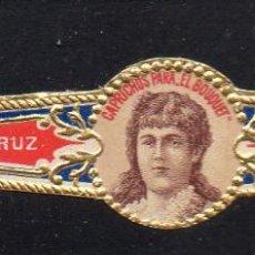 Vitolas de colección: VITOLA CLASICA: 163004, MUJERES MEXICO, CAPRICHOS PARA EL BOUQUET, MADRAZO Y CORRALES. Lote 222252075