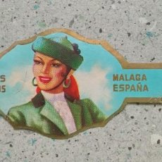 Vitolas de colección: VITOLA FRUTOS SELECTOS MALAGA ESPAÑA. Lote 222261561