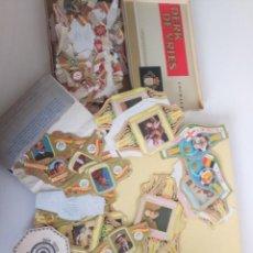 Vitolas de colección: ENORME LOTE VITOLAS PUROS, SERIES COMPLETAS, QUIJOTE, ETC. Lote 222311818
