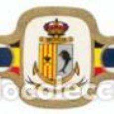 Vitolas de colección: VITOLAS MERCATOR SERIE INSIGNIAS MILITARES BELGAS 2ª (SM) - VER DISPONIBLES A 0,10 CADA UNA. Lote 222654317