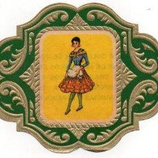 Vitolas de colección: VITOLAS ESMERALDA COLECCION TRAJES TIPICOS DE PROVINCIAS ESPAÑOLAS, CASTELLON Nº 28. Lote 222654655