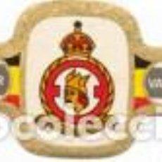 Vitolas de colección: VITOLAS MERCATOR SERIE INSIGNIAS MILITARES BELGAS 3ª - VER DISPONIBLES A 0,10 CADA UNA. Lote 222654728