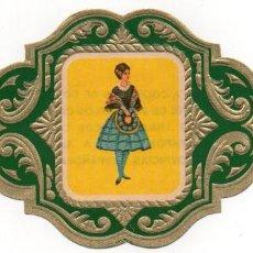Vitolas de colección: VITOLAS ESMERALDA COLECCION TRAJES TIPICOS DE PROVINCIAS ESPAÑOLAS, BADAJOZ Nº 11. Lote 222654761