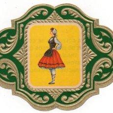 Vitolas de colección: VITOLAS ESMERALDA COLECCION TRAJES TIPICOS DE PROVINCIAS ESPAÑOLAS, ALAVA Nº 45. Lote 222654892
