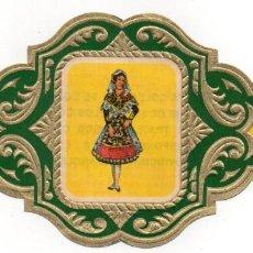 Vitolas de colección: VITOLAS ESMERALDA COLECCION TRAJES TIPICOS DE PROVINCIAS ESPAÑOLAS, SALAMANCA Nº 19. Lote 222655536