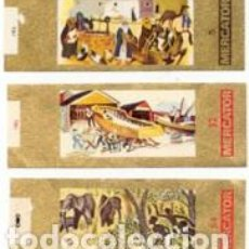 Vitolas de colección: VITOLAS MERCATOR SERIE ETNOLOGÍA 1ª-2ª-3ª - VER DISPONIBLES A 0,10 CADA UNA. Lote 222660432