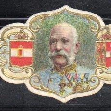 Vitolas de colección: VITOLA CLASICA: 165024, CASAS REALES, FRANCISCO JOSE DE AUSTRIA. Lote 222681126
