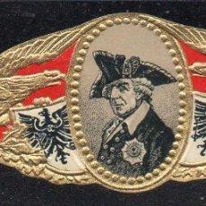 Vitolas de colección: VITOLA CLASICA: 165027, IMPERIO ALEMAN, FEDERICO II EL GRANDE, TALON G.K.DEP.Nº28090. Lote 222681308