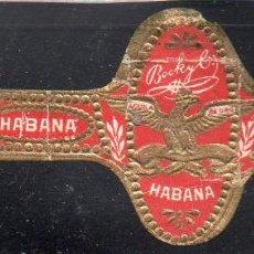Vitolas de colección: VITOLA CLASICA: 171002, TEMA AGUILAS, AGUILA DE ORO, BOCK, CUBA, PEQUEÑA. Lote 222681477