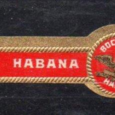 Vitolas de colección: VITOLA CLASICA: 171009, TEMA AGUILAS, BOCK Y CIA, CUBA. Lote 222681657