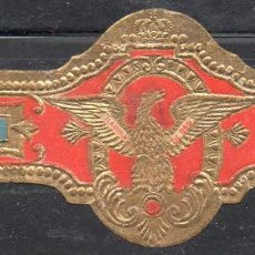Vitolas de colección: VITOLA CLASICA: 171010, TEMA AGUILAS, BOCK Y CIA, CUBA. Lote 222681727