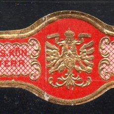 Vitolas de colección: VITOLA CLASICA: 171011, TEMA AGUILAS, OSTERR.. Lote 222681778