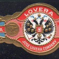 Vitolas de colección: VITOLA CLASICA: 171014, TEMA AGUILAS, LOVERA. Lote 222681920