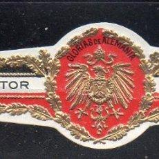Vitolas de colección: VITOLA CLASICA: 171019, TEMA AGUILAS, GLORIAS DE ALEMANIA, IMPERATOR. Lote 222682072