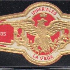 Vitolas de colección: VITOLA CLASICA: 171022, TEMA AGUILAS, IMPERIALES, LA VEGA, ISLAS CANARIAS.. Lote 222682172