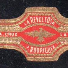Vitolas de colección: VITOLA CLASICA: 171026, TEMA AGUILAS, LA REVOLTOSA, ISLAS CANARIAS, GRANDE. Lote 222682236