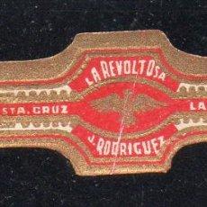 Vitolas de colección: VITOLA CLASICA: 171027, TEMA AGUILAS, LA REVOLTOSA, ISLAS CANARIAS, PEQUEÑA. Lote 222682282