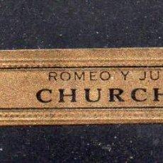 Vitolas de colección: VITOLA CLASICA: 172001, CHURCHILL, ROMEO Y JULIETA, CUBA.. Lote 222682420