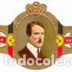 Vitolas de colección: VITOLAS MERCATOR SERIE ALBERTO I DE BÉLGICA - VER DISPONIBLES A 0,10 € CADA UNA. Lote 222717488