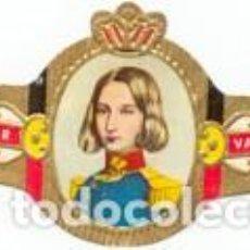 Vitolas de colección: VITOLAS MERCATOR SERIE LEOPOLDO II DE BÉLGICA - VER DISPONIBLES A 0,10 € CADA UNA. Lote 222717656