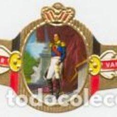 Vitolas de colección: VITOLAS MERCATOR SERIE LEOPOLDO I DE BÉLGICA - VER DISPONIBLES A 0,10 € CADA UNA. Lote 222718018