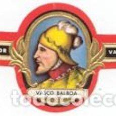Vitolas de colección: VITOLAS MERCATOR SERIE NAVEGANTES - VER DISPONIBLES A 0,10 € CADA UNA. Lote 222718651