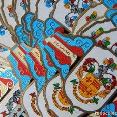 Vitolas de colección: 101 VITOLAS (GRANDES) ALVARO SERIE I HERÁLDICA. Lote 224950561
