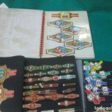 Vitolas de colección: 800 VITOLAS DE PUROS DIFERENTES.. Lote 226257960