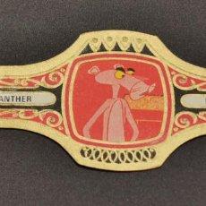 Vitolas de colección: VITOLA ANTIGUA DE LA PANTERA ROSA. Lote 226623465