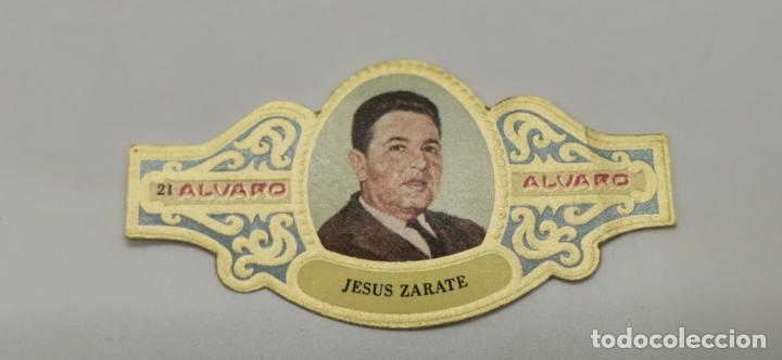 VITOLA ALVARO SERIE PREMIOS PLANETA JESUS ZARATE LA CARCEL 1972 (Coleccionismo - Objetos para Fumar - Vitolas)