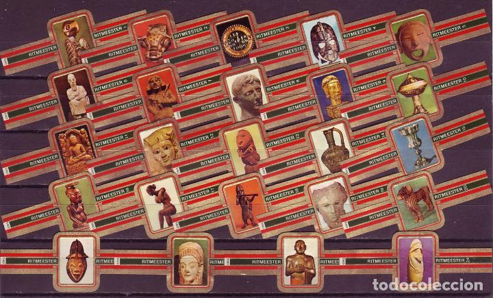 RITMEESTER, TESOROS DEL MUSEO BRITANICO, 24 VITOLAS, SERIE COMPLETA. (Coleccionismo - Objetos para Fumar - Vitolas)