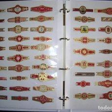 Vitolas de colección: ÁLBUM DE VITOLAS CONTENIENDO 316 VITOLAS Y 8 RECORTES Y SELLOS. Lote 230903015