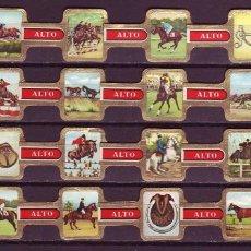 Anéis de charuto de coleção: ALTO, EQUITACION, 24 VITOLAS, SERIE COMPLETA.. Lote 233431835
