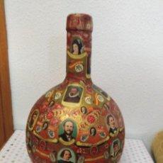 Vitolas de colección: DAMAJUANA DECORADA CON VITOLAS. Lote 233829780