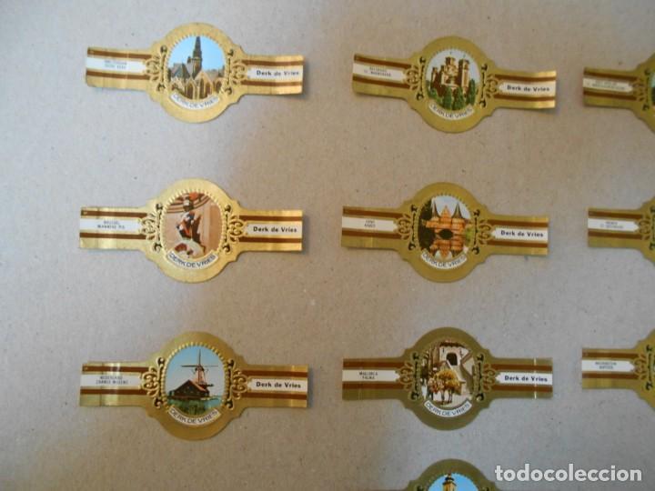 Vitolas de colección: VITOLAS DERK DE VRIES-SERIE 242-SERIE COMPLETA-10 VITOLAS - Foto 2 - 234380790