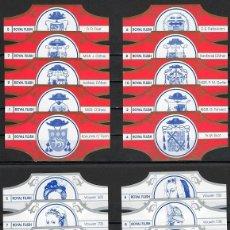 Vitolas de colección: LOTE DOS SERIES DE VITOLAS COMPLETAS. VROUWEN - ESCUDOS HERÁLDICOS.. Lote 235701095