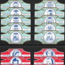 Vitolas de colección: LOTE DOS SERIES DE VITOLAS COMPLETAS. VROUWEN - ESCUDOS HERÁLDICOS.. Lote 235723240