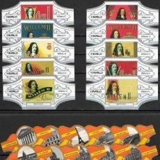 Vitolas de colección: LOTE DOS SERIES DE VITOLAS COMPLETAS. LITOGRAFÍAS WILLEM II - PARÍS.. Lote 235730320