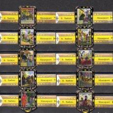 Anéis de charuto de coleção: SAELENS, VISTAS DE NIEWPOORT, AMARILLO, 10 VITOLAS, SERIE COMPLETA.. Lote 236805130