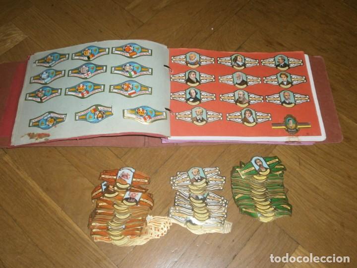 GRAN LOTE MÁS DE 400 VITOLAS CAPOTE, ALVARO, PERSONAJES, QUIJOTE, REPETIDAS - SOLO VALIENTES. (Coleccionismo - Objetos para Fumar - Vitolas)