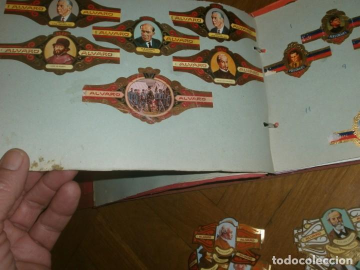 Vitolas de colección: Gran lote más de 400 vitolas Capote, Alvaro, personajes, Quijote, repetidas - solo valientes. - Foto 3 - 236989845